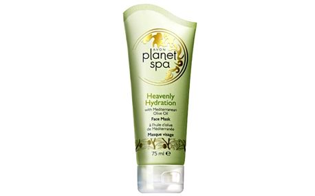 Avon Hydratační pleťová maska s olivovým olejem Planet Spa (Face Mask Heavenly Hydration with Mediterranean Olive Oil) 75 ml