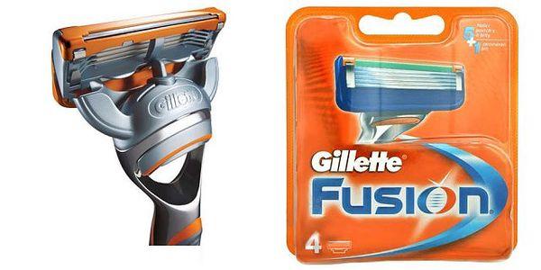 Gillette Fusion Power - 4 náhradní břity - pro Vaši hladkou tvář!