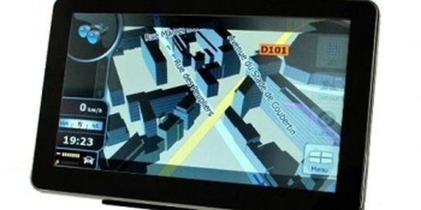 """S velmi kvalitní GPS navigací 7"""" MTK nezabloudíte nikde v Evropě! Období cestování se blíží... Vybavte se na cesty za úžasných 1725 Kč!"""