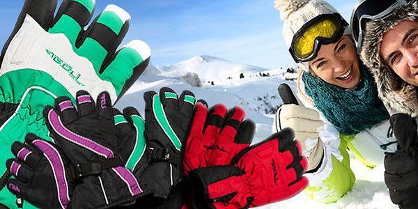 Značkové lyžařské rukavice LOAP