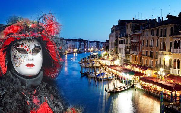 Karneval v Benátkách sleva 50 %