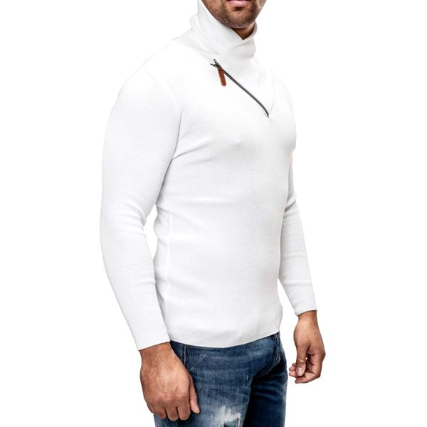 Pánský svetr Carisma bílý