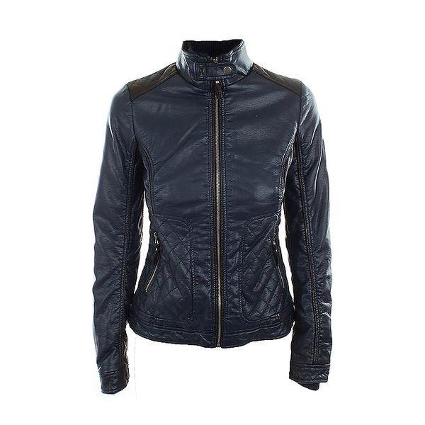 Dámská tmavě modrá motorkářská bunda Company&Co