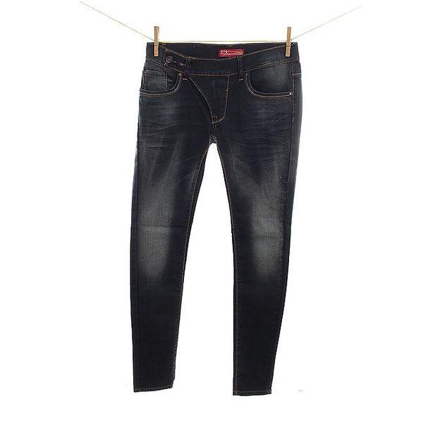 Dámské šisované tmavomodré džíny Fuga