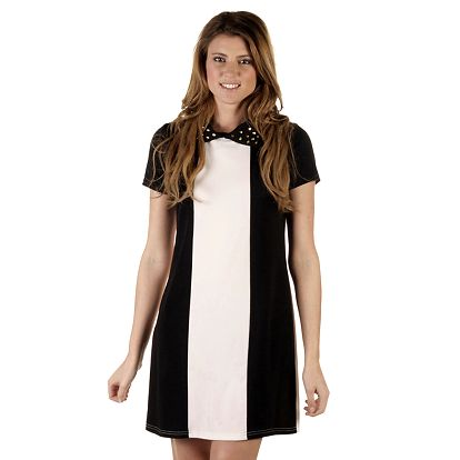 Dámské černokrémové šaty Ada Gatti