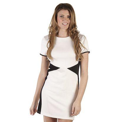 Dámské krémovočerné šaty Ada Gatti