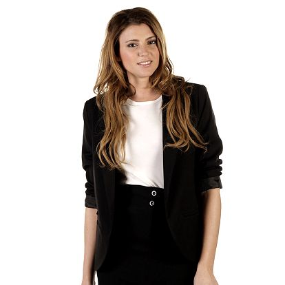 Dámská černé sako Ada Gatti