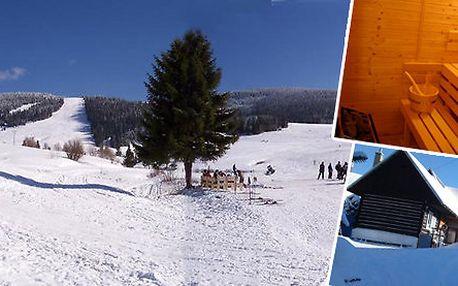 Relax s wellnessem na chatě pro partu nebo rodiny v Nízkých Tatrách