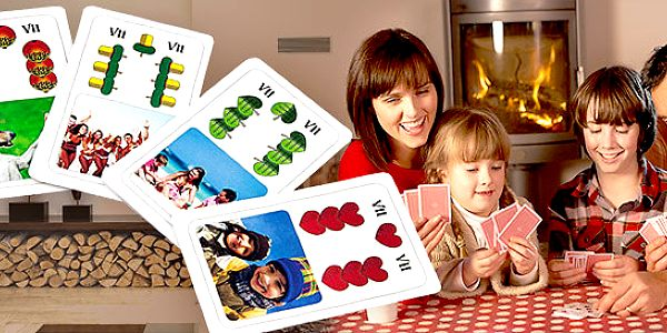 Hrací karty s vlastními fotkami - různé druhy