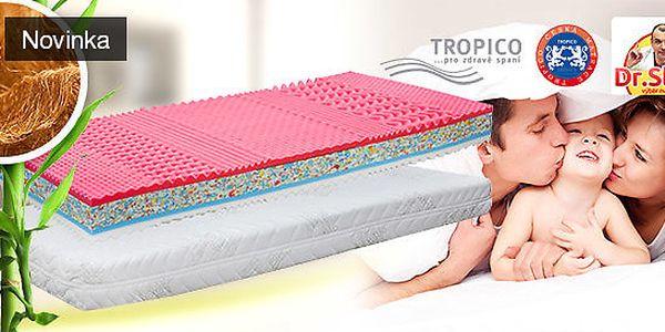 Partnerská matrace Tropico Scarlet 1 + 1 zdarma
