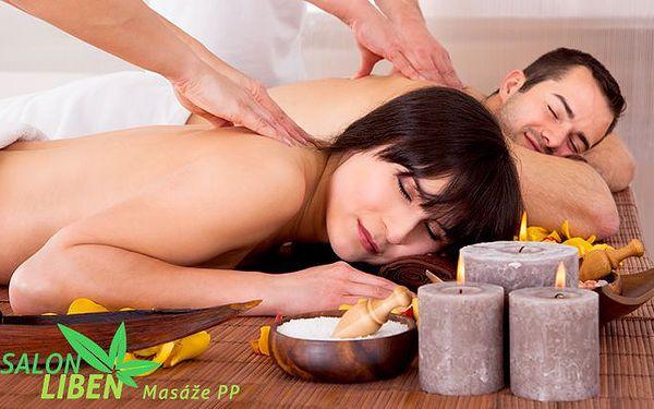 60minutová aroma masáž pro pár v pražském salonu Libeň