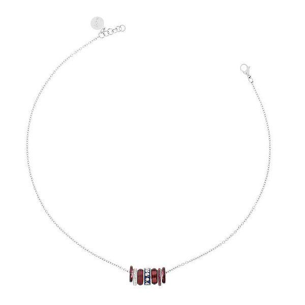 Dámský náhrdelník s barevnými kroužky Miss Sixty