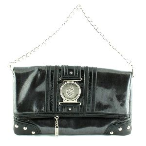 Dámská černá lesklá kabelka RocaWear