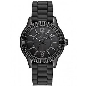 Černé sportovní hodinky s.Oliver