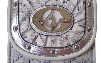 Dámská bílo-stříbrná peněženka Baby Phat