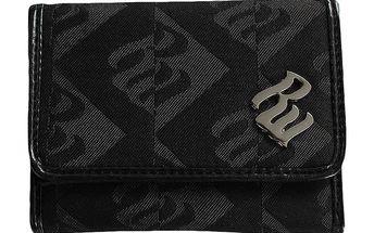 Dámská černá vzorovaná peněženka RocaWear