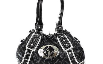 Dámská černá vzorovaná kabelka Baby Phat