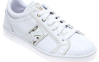 Dámské bílé nízké boty Baby Phat s nápisy