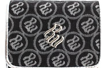 Dámská černá peněženka se vzorem RocaWear