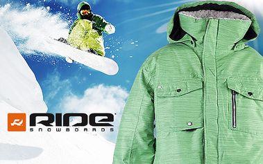 Pánské snowboardové bundy a kalhoty Ride