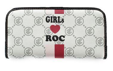 Dívčí bílá vzorovaná peněženka RocaWear