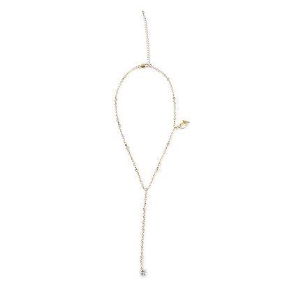 Dámský náhrdelník ve zlaté barvě Baby Phat