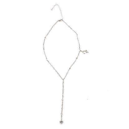 Dámský náhrdelník ve stříbrné barvě Baby Phat
