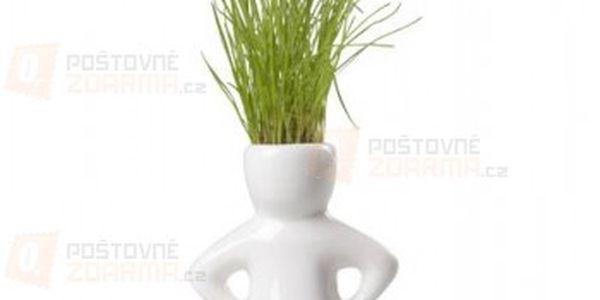 Květináč ve tvaru panáčka se semínky a poštovné ZDARMA s dodáním do 3 dnů! - 11607999