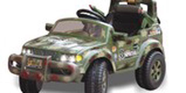 Elektrické autíčko - Army special 99811AF