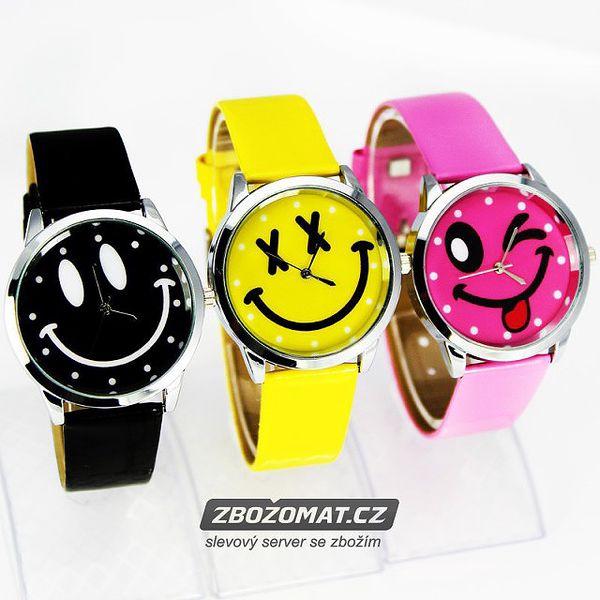 Dětské hodinky se smajlíkem pro veselé dny!