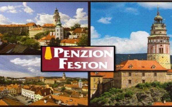 Č.KRUMLOV - balíček na 3 dny v Penzionu Feston pro 2 osoby - Od března do půlky dubna