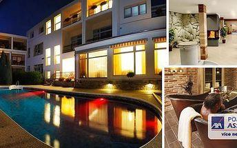 LÁZNĚ LUHAČOVICE - pobyt v lázeňském & wellness hotelu Niva ve 4* pokojích Executive pro 2 osoby na 3 dny s bohatou polopenzí a vstupem do vnitřního bazénu se slanou vodou! Slatinný zábal, vstup do luxusního wellness centra - finská, lesní sauna a další