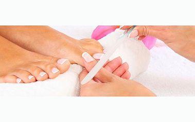 Profesionální mokrá pedikúra včetně masáže a peelingu za úžasných 170 Kč! Dopřejte svým chodidlům prvotřídní péči s báječnou slevou 48%!
