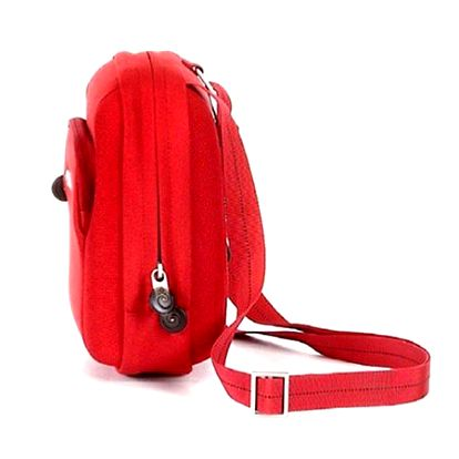 SAMSONITE SAHORA VOYAGE MONEY BAG SHOULDER STRAP RED