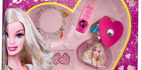 Dárková sada BARBIE. EDT 50 ml+ náramek+lip gloss+ tetování