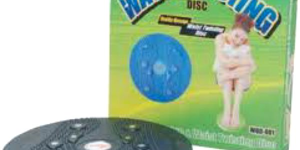 Twister rotační disk na cvičení - zpevněte tělo jednoduchým způsobem!