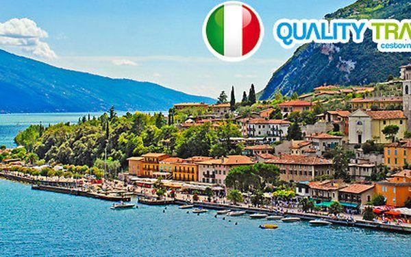 7-8denní zážitková dovolená u jezera Lago di Garda