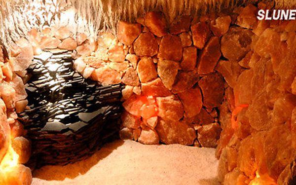 Blahodárná relaxace v solné jeskyni