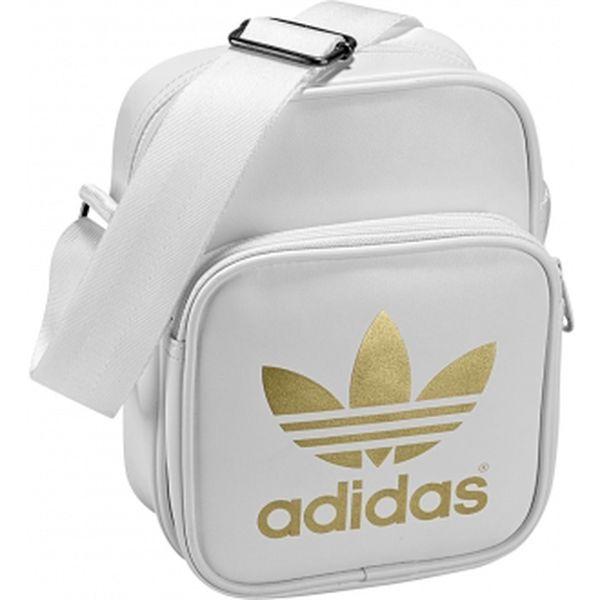 Taška přes rameno - Adidas AC MINIBAG bílá
