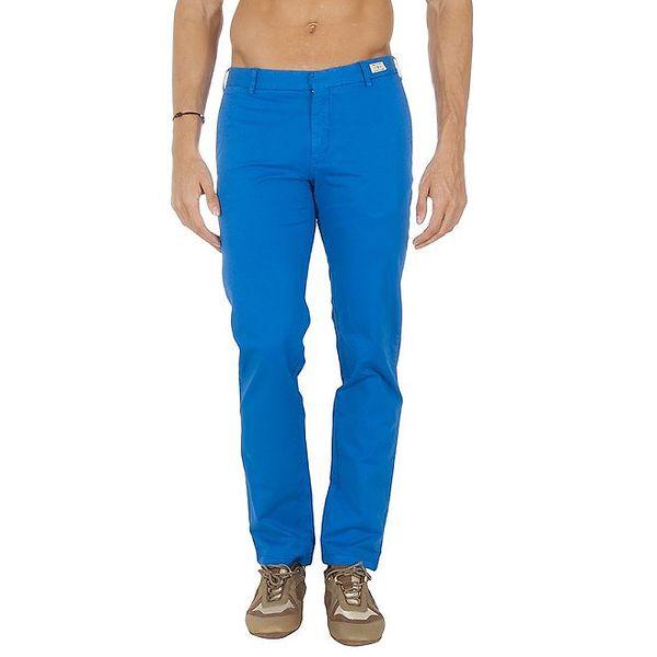 Pánské blankytně modré chino kalhoty Tommy Hilfiger