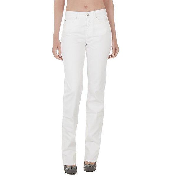 Dámské bílé kalhoty džínového střihu Tommy Hilfiger