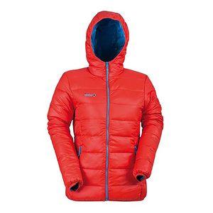 Oranžová zimní bunda