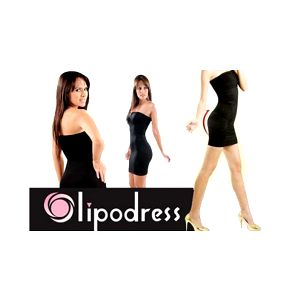 Zeštíhlující šaty Lipodress za neuvěřitelnou cenu!! Vytvarují a pomohou zeštíhlit křivky vašeho těla, jsou bezešvé a dokonale přilnou k tělu. Perfektní doplněk, který oceníte i vy!