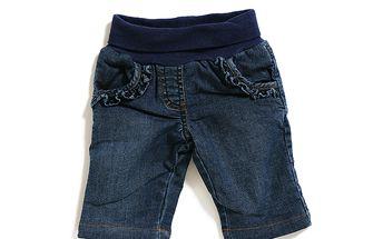 Dívčí džíny s pasem na gumu