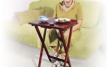 Praktický skládací stolek, který najde uplatnění v každé domácnosti!