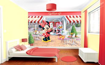 Tapeta Disney Minnie - 305 x 244 cm