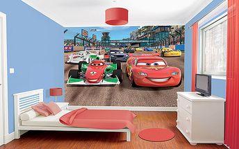 Tapeta Disney Auta - 305 x 244 cm