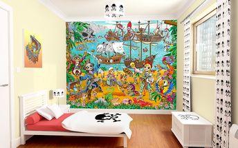 Tapeta Piráti a hledači pokladů - 305 x 244 cm