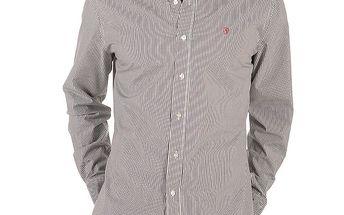 Pánská bíle proužkovaná košile Replay