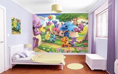 Tapeta Medvídci - 305 x 244 cm